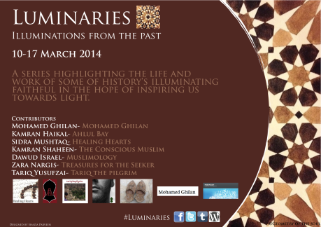 Luminaries flyer PNG image